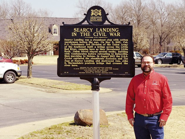 local-historian-scott-akridge-is-shown-at-the-river-oaks-golf-course-next-to-one-of-six-civil-war-markers-in-white-county-the-markers-are-part-of-a-program-that-incorporated-private-donations-and-state-matching-funds-to-honor-people-and-sites-in-the-county-that-had-a-significant-impact-on-the-war