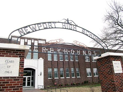 newport-high-school-was-built-in-1930-and-appears-on-the-national-register-of-historic-places-the-district-is-performing-upgrades-on-all-campuses-including-the-auditorium-in-the-high-school