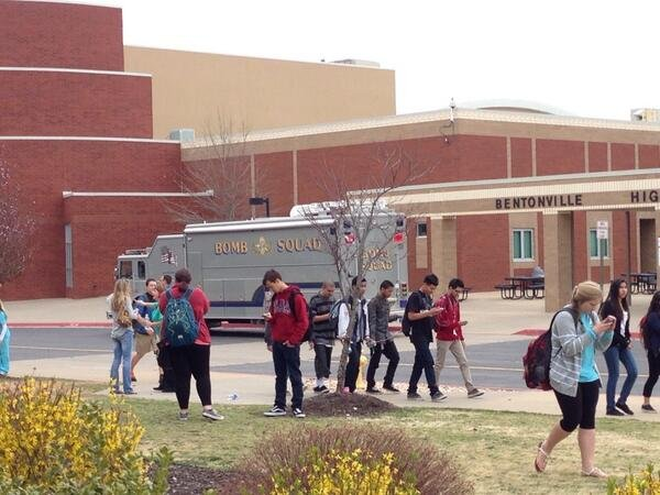bentonville-high-school-was-dismissed-early-tuesday-after-a-bomb-threat-was-discovered