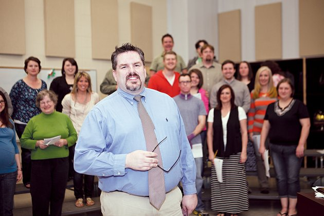sam-huskey-is-director-of-the-newly-formed-conway-community-chorus-which-is-made-up-of-men-and-women-from-faulkner-county-huskey-said-anyone-who-enjoys-singing-may-join-the-group-which-rehearses-at-2-pm-each-sunday-at-conway-high-school