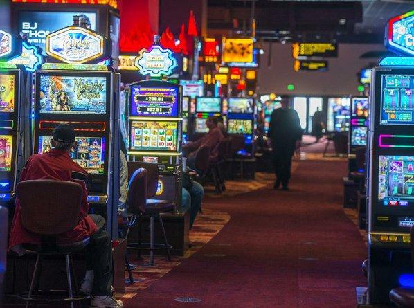 Oklahoma indian casino slot machines poker face anime gif