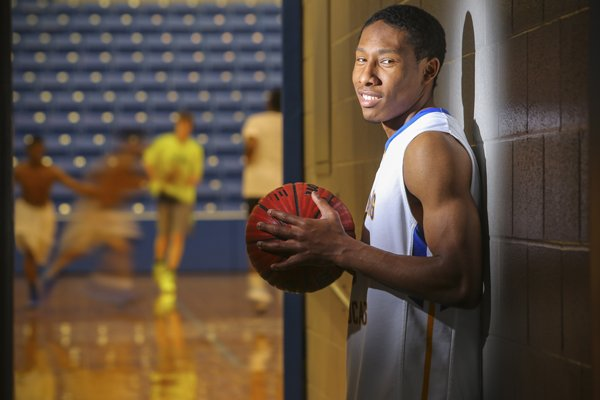 KeVaughn Allen, who is the Arkansas Democrat-Gazette's Mr. Basketball for 2014.