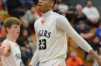 Forward Juwan Morgan received an offer from the Hogs in the spring.