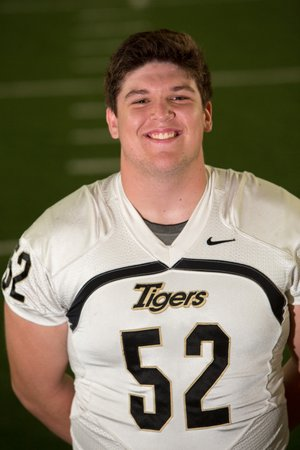 Bentonville offensive lineman Ean Pfeiferhas has the physical tools colleges look for.