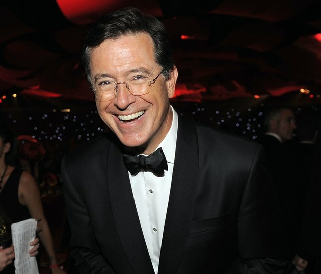 this-sept-23-2012-file-photo-shows-tv-personality-stephen-colbert-at-the-64th-primetime-emmy-awards-governors-ball-in-los-angeles-cbs-announced-thursday-april-10-2014-that-colbert-the-host-of-the-colbert-report-will-succeed-david-letterman-as-the-host-of-the-late-show