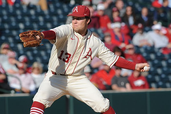 Michael Gunn allowed his first earned run of the season in a 5-4 loss at LSU on Saturday.
