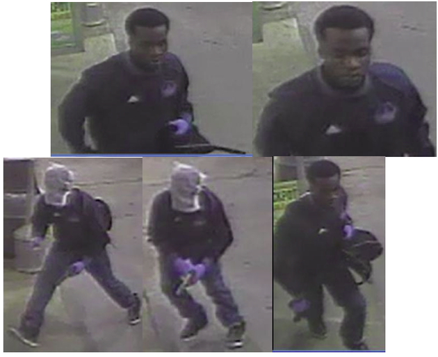 little-rock-police-say-the-man-pictured-robbed-the-valero-gas-station-at-7320-cantrell-road-he-is-described-as-a-black-male-5-foot-9-to-5-foot-10-inches-tall-160-to-170-pounds-wearing-dark-clothing-blue-latex-gloves-and-a-mask-over-his-face