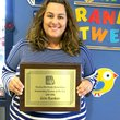 "Photo by Mike Eckels Erin Rankin was named ""Teacher of the Year."""