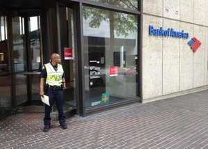 Bank of America in downtown LR robbed