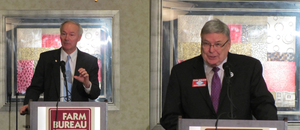 GOP gubernatorial hopefuls Coleman, Hutchinson address farmers