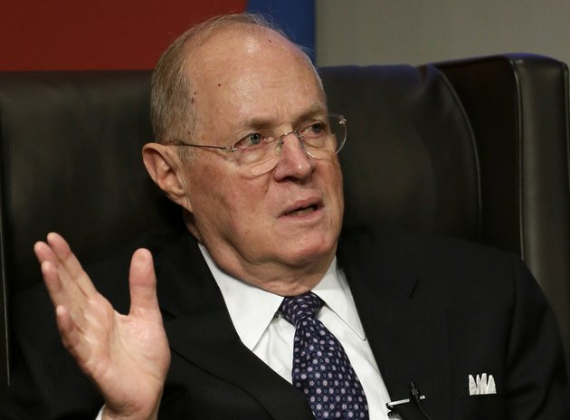 this-oct-13-2013-file-photo-shows-supreme-court-justice-anthony-kennedy-speaking-at-the-university-of-pennsylvania-law-school-in-philadelphia-the-supreme-court-on-tuesday-upheld-michigans-ban-on-using-race-as-a-factor-in-college-admissions