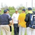 STAFF PHOTO ANDREW HUTCHINSON The Ecclesia College baseball team practices at the Tyson Sports Comp...