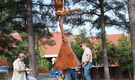 16-foot sculpture added to LR park before show