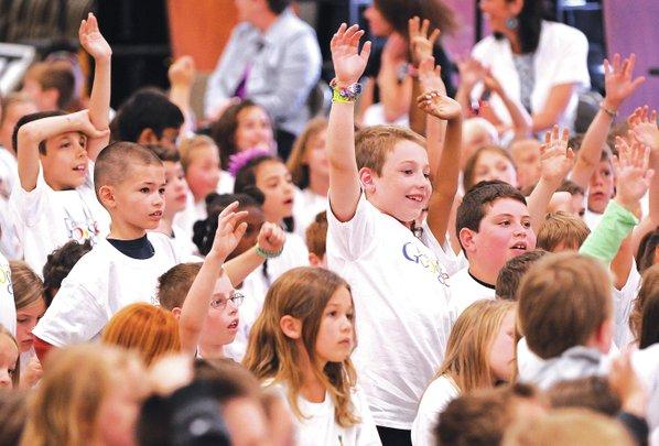 STAFF PHOTO BEN GOFF Second-grader ...