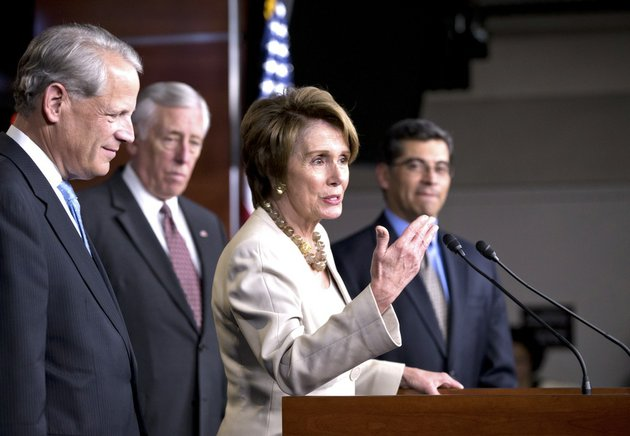 this-march-14-2013-file-photo-shows-house-minority-leader-nancy-pelosi-of-calif-and-house-democratic-leaders-speaks-during-a-news-conference-on-capitol-hill-in-washington-t