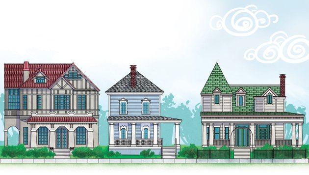 quapaw-houses-illustration