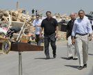 Obama visits Vilonia - AP Photos