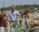 Obama visits Vilonia - Staff Photos