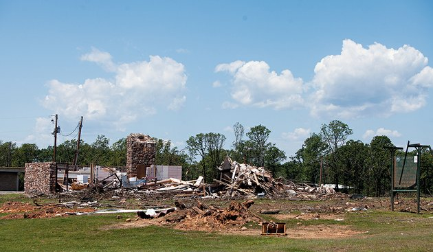 the-arkansas-game-and-fish-commission-camp-robinson-special-use-area-at-331-clinton-road-in-conway-was-heavily-damaged-by-the-april-27-tornado-four-buildings-were-destroyed-as-well-as-more-than-300-acres-of-timber