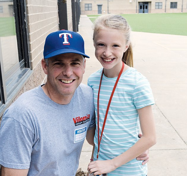 tommy-bates-visits-his-daughter-reagan-at-vilonia-middle-school-on-wednesday-bates-and-his-family-were-in-a-storm-shelter-during-the-april-27-tornado-that-struck-vilonia-but-their-home-was-destroyed-along-with-their-business-vilonia-therapy-services-bates-said-he-plans-to-rebuild
