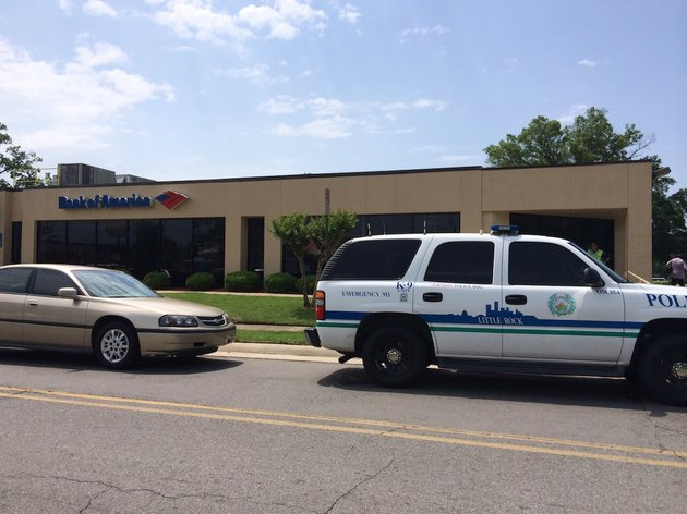 little-rock-police-respond-to-a-robbery-monday-morning-at-the-bank-of-america-branch-at-8200-geyer-springs-road