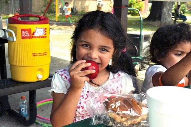 children-take-part-in-the-summer-feeding-program-at-kensett-park-in-white-county-last-year-several-counties-including-izard-and-stone-did-not-have-feeding-programs-in-2013-but-the-arkansas-hunger-relief-alliance-has-made-contacts-in-those-counties-to-remedy-the-problem-before-school-lets-out-for-the-summer