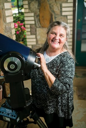 Kaye Clanton is retiring after 31 years as a teacher in the Conway School District. She taught physical science and astronomy and wrote the curriculum for the astronomy class that she taught at Conway High School for 25 years.