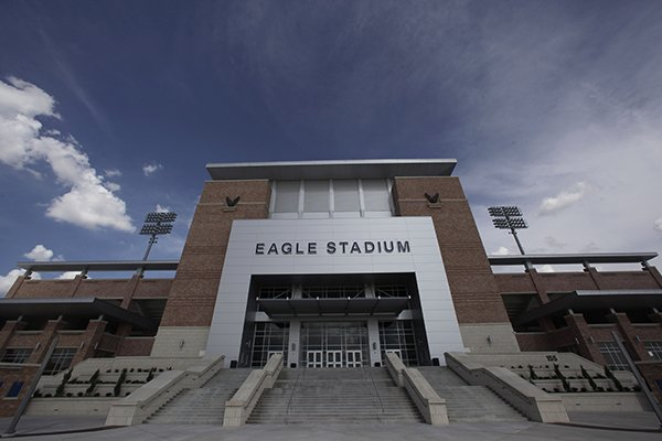 this-aug-28-2012-file-photo-shows-the-front-entrance-of-eagle-stadium-at-allen-high-school-in-allen-texas-the-60-million-high-school-football-stadium-that-opened-to-massive-fanfare-in-2012-will-be-shut-down-for-the-upcoming-season-after-cracks-were-found-in-the-buildings-concrete-concourse-ap-photolm-otero-file