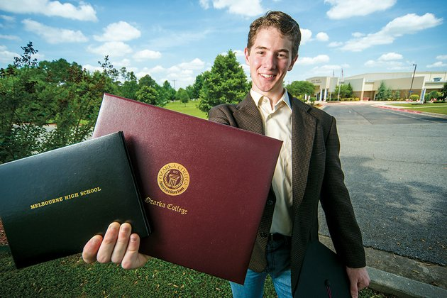 daniel-rittle-recently-graduated-from-melbourne-high-school-but-he-did-so-a-few-days-after-receiving-an-associate-degree-from-ozarka-college