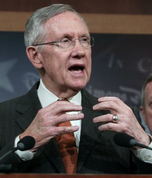 "A spokesman for Senate Majority Leader Harry Reid said Wednesday that increased secret political giving highlights the need for a constitutional amendment declaring ""that money does not equal speech."""