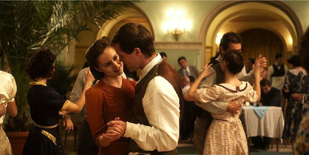 elek-jonas-armstrong-and-hannah-hannah-tointon-are-young-lovers-who-risk-all-to-resist-the-nazi-occupation-of-hungary-in-walking-with-the-enemy