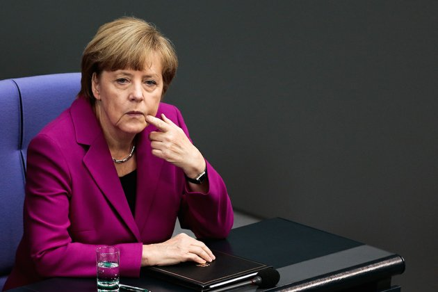 german-chancellor-angela-merkel-sits-ahead-of-speaking-at-the-g7-summit-in-berlin-on-wednesday-june-4-2014