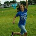 Note: Arterbury is correct.STAFF PHOTO FLIP PUTTHOFF FLYING LESSONEmma Arterbury gets her kite in...