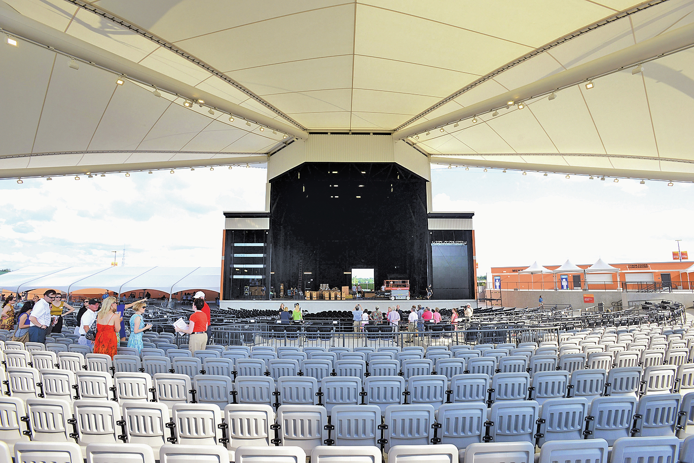 Walmart Arkansas Music Pavilion Readies For Opening Concert In Rogers | NWADG