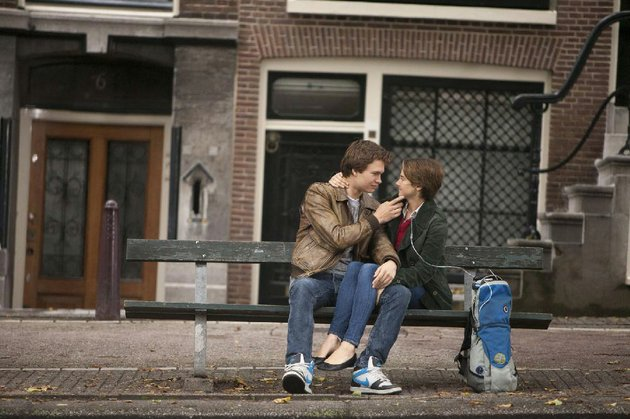 gus-ansel-elgort-and-hazel-shailene-woodley-make-an-atypical-screen-couple-in-the-fault-in-our-stars-a-bittersweet-romantic-comedy-adapted-from-john-greens-popular-young-adult-novel