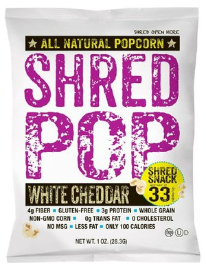 Shred Pop popcorn