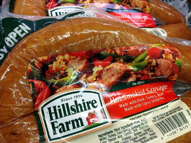 hillshire-farm-packaged-sausage-is-displayed-monday-at-a-supermarket-in-middleton-mass-tyson-foods-inc-has-won-a-bidding-war-for-hillshire-brands-the-maker-of-jimmy-dean-sausages-and-ball-park-hot-dogs-with-a-63-per-share-offer