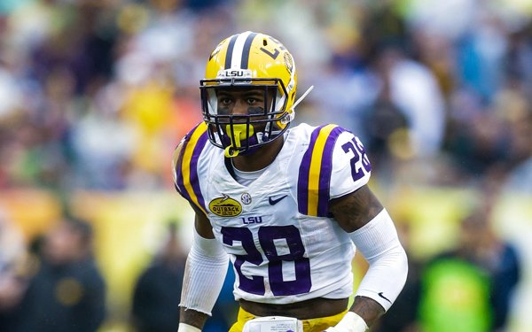 LSU's Jalen Mills had 67 tackles and three interceptions last season. (AP Photo/Margaret Bowles)