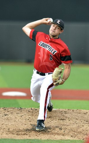 Louisville has relied on a young pitching staff to reach the College World Series, including sophomore Anthony Kidston, who is 9-0 with a 3.54 earned-run average this season.