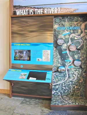 Mississippi River State Park's visitor center just south of Marianna tells the legendary waterway's role in the shaping of Arkansas.