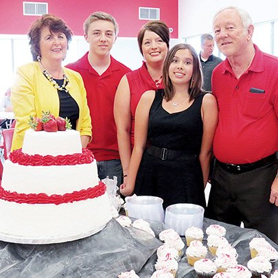 the-mitchell-family-includes-sharon-mitchell-grandchildren-kaleb-and-emily-mcbay-daughter-carla-atkinson-and-frank-mitchell-who-is-retiring-after-28-years-as-superintendent-of-the-vilonia-school-district-and-49-years-in-the-education-field-his-first-teaching-contract-was-for-4100-he-has-taught-in-many-districts-during-his-career-including-at-wabbaseka-white-hall-foreman-and-fordyce-sharon-mitchell-was-also-a-teacher-and-retired-in-1989-because-of-health-reasons