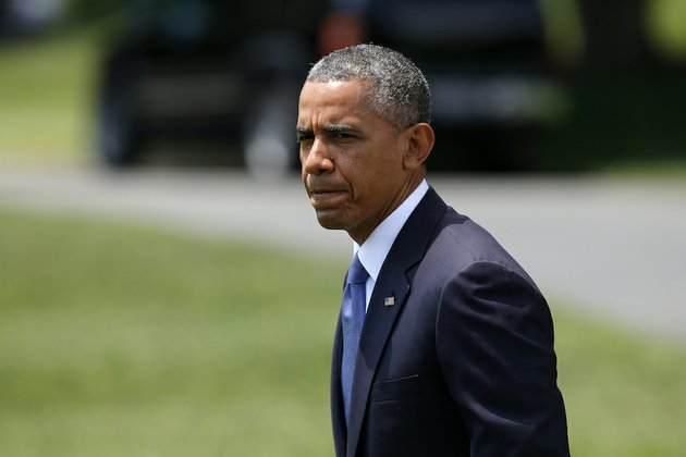 president-barack-obama-finishes-his-statement-on-iraq-friday-june-13-2014-on-the-south-lawn-at-the-white-house-in-washington-afterward-the-president-walked-to-the-marine-one-helicopter-for-a-short-trip-to-andrews-air-force-base-md-then-onto-north-dakota