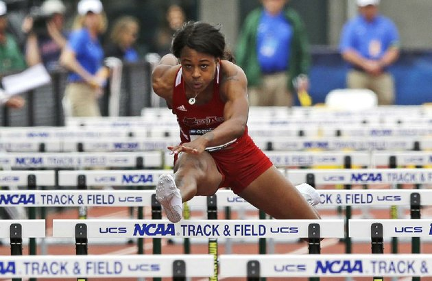 arkansas-state-senior-sharika-nelvis-capped-her-college-career-by-winning-the-100-meter-hurdles-at-the-ncaa-outdoor-track-and-field-championships-in-eugene-ore-in-1252-seconds-the-fastest-time-in-the-world-this-season