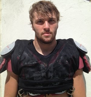 Parker Witt of Dardanelle had a good showing at Arkansas' three-day camp.