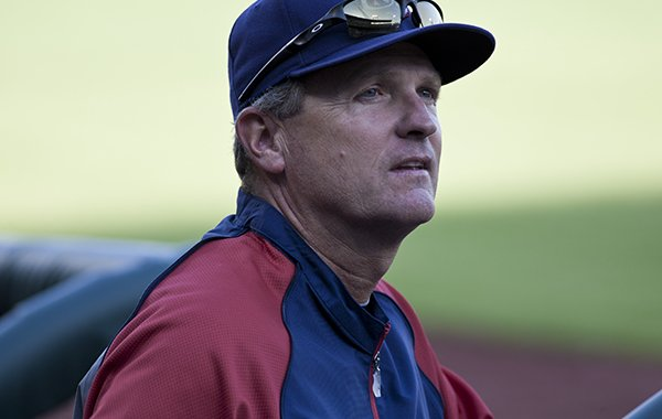 Arkansas coach Dave Van Horn is the manager for this year's USA collegiate national team.