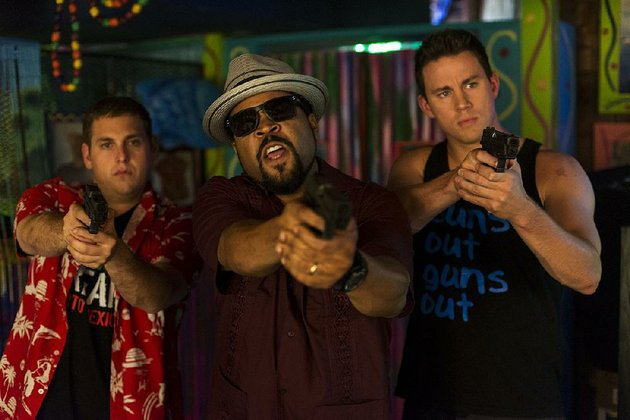 jonah-hill-from-left-ice-cube-and-channing-tatum-star-in-22-jump-street-the-film-came-in-first-at-last-weekends-box-office-and-made-about-57-million