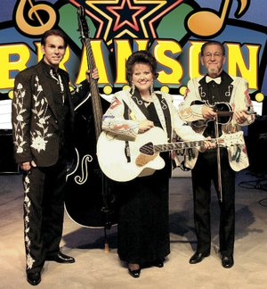 Branson on the Road — (from left) Brian Capps, Debbie Horton and Donnie Wright — performs Friday and Saturday at Pine Bluff Community Theatre.