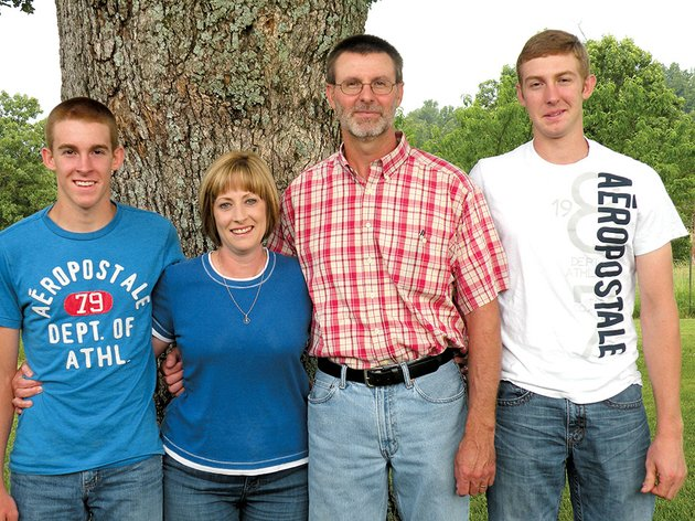 the-wade-powell-family-of-the-fryatt-community-is-the-2014-fulton-county-farm-family-of-the-year-family-members-include-from-left-coltin-sherry-wade-and-collin-the-family-raises-hay-and-timber-and-has-a-cowcalf-operation-on-739-acres