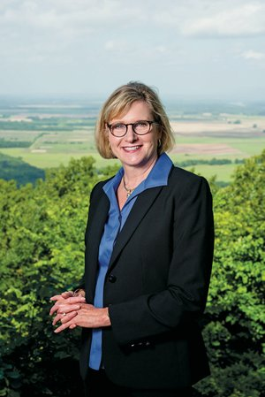 Marta Loyd, new executive director of the Winthrop Rockefeller Institute on Petit Jean Mountain, also lives there. Loyd said photography is a hobby she picked up after finishing her doctorate, and in addition to her family, the mountain is one of her favorite subjects to photograph.