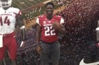 Rawleigh Williams III became Arkansas' 10th commitment for the class of 2015 on Saturday.